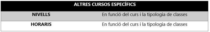 Intensivos clases refuerzo escolar sant cugat del vallès barcelona